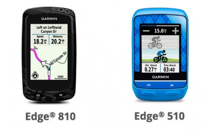 Garmin presenta el GPS Edge 810 y 510