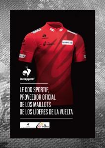 Maillot rojo Le Coq Sportif - La Vuelta a España