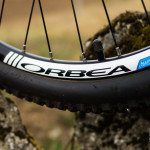 Detalle de la rueda en la Orbea Master Sport 2013