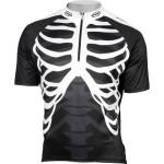 Maillot Northwave - Skeleton en Blanco