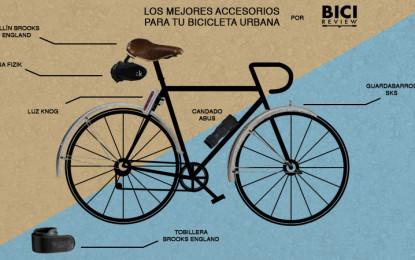 Los mejores accesorios para tu bicicleta urbana
